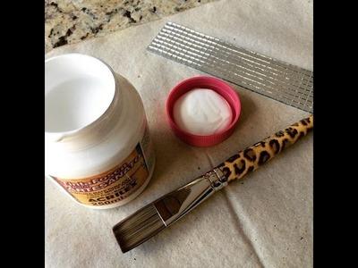 Blog da Lulu - como fazer porta pincel de maquiagem DIY