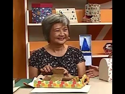 Cartonagem em Bandeja com Alice Yozhiyoka | Vitrine do artesanato na TV