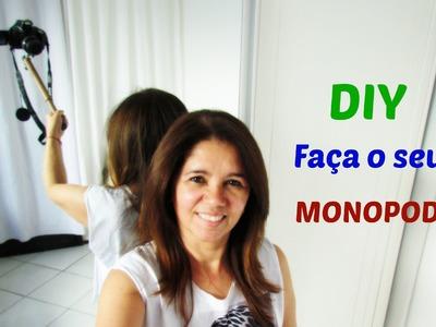 Como fazer seu Pau de Selfie - DIY- MonoPod - Aquele acessório da GoPro