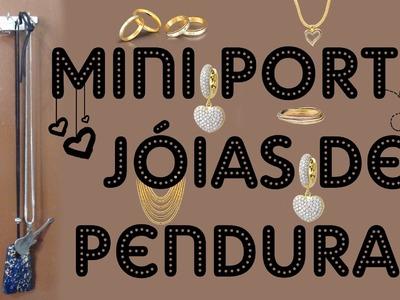 DECORAÇÃO DE QUARTO | Mini porta Jóias de pendurar - DIY Do it Yourself - Dicas fáceis Tumblr