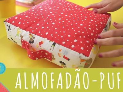 Descomplica! Aprenda a costurar um almofadão, puff, cama para pet