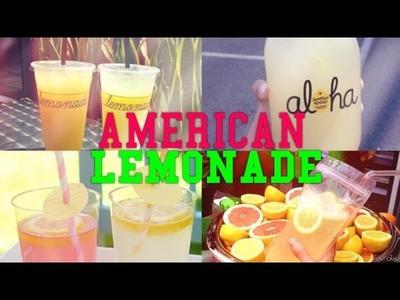 DIY: AMERICAN LEMONADE l Gabi Ferreira