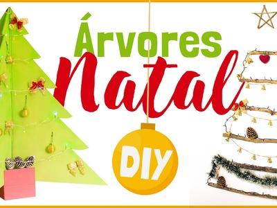 DIY ÁRVORE DE NATAL - Decoração de Natal Gastando Pouco (3 Idéias)