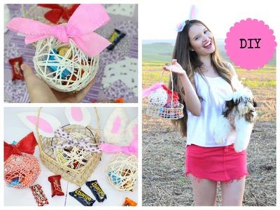 DIY : Bolinhas de Páscoa feitas com Barbante- Presenteie quem você ama