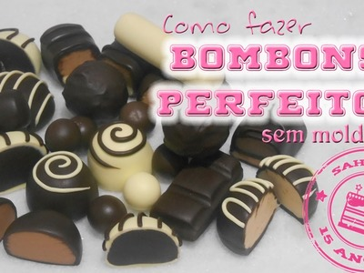 DIY - Bombons perfeitos em Biscuit SEM MOLDE - Sah Passa o passo - Especial Sah Biscuit 15 anos #09