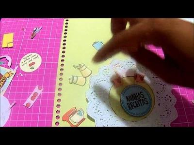 DIY - Caderno de Receita