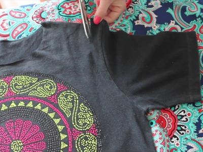 DIY- Camiseta Mandala