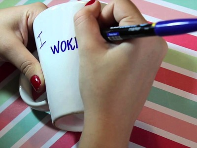 DIY: Caneca Decorada