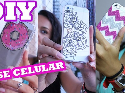 DIY Capinhas Celular Personalizadas - Por Jéssica Freitas
