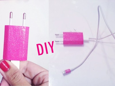 ✄ Diy: Carregador De Iphone Personalizado ★