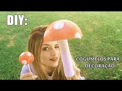 DIY:: Cogumelos para seu jardim