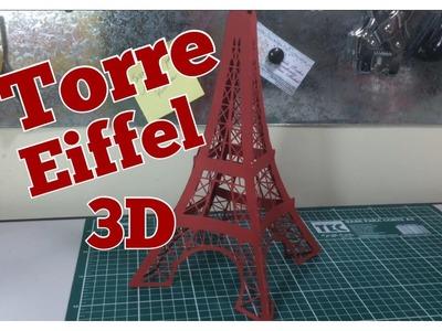 DIY | Como fazer Torre Eiffel - Festa Paris - Passo a passo