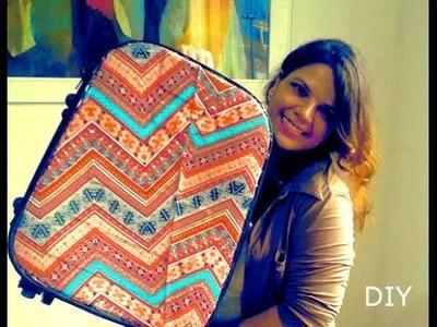 DIY - Customizando mala ♥