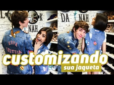 DIY Customizando sua JAQUETA com Patches