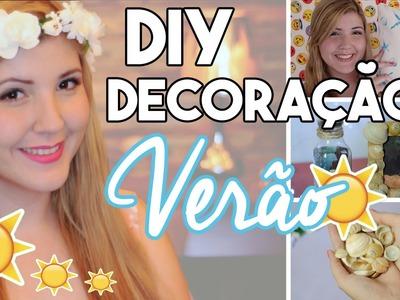 DIY Decoração de Quarto - Verão - Ideias com conchas do mar