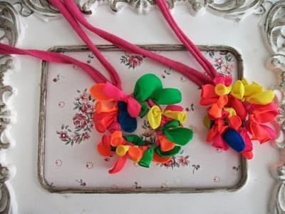 DIY: faça voce mesma um lindo collar com balões
