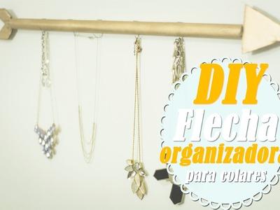 DIY.Faça Você Mesmo: Organizador de Colares e Braceletes