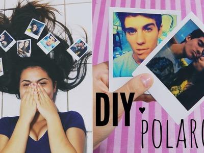 DIY: Foto estilo polaroid | Andressa Moraes
