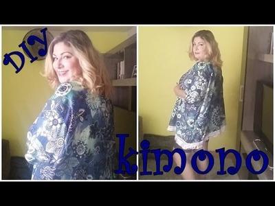 DIY: kimono sem costura