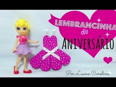 DIY: Lembrancinha de Aniversário (Bailarina) | By Luana Carolina