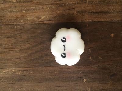 DIY: Nuvem kawaii de biscuit!