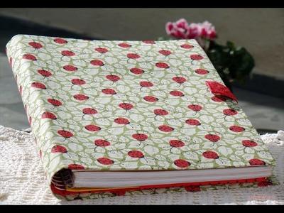 #DIY Porta caderno em tecido (cartonagem) - Passo a passo