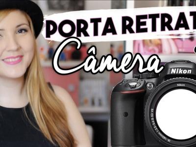 DIY :: Porta Retrato de Câmera - Decoração de Quarto | Projeto DIY