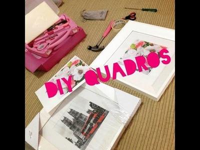 DIY Quadros Personalizados