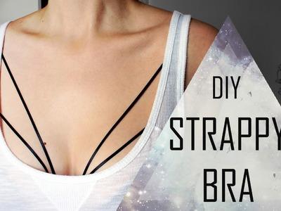 DIY Strappy Bra (Sutiã de Tiras)