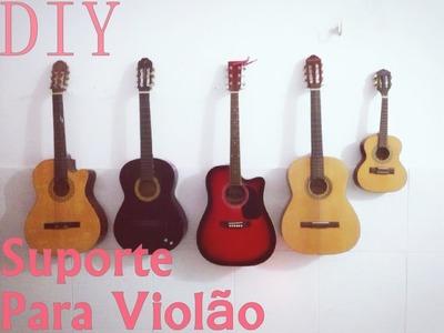 DIY - Suporte de parede caseiro para violão