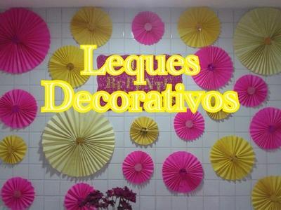 Leques Decorativos - Como Fazer? - DIY
