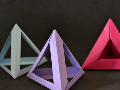 Origami: Tetrahedron