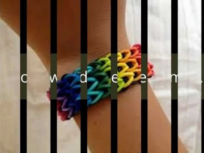 Peça ja seu kit e acessorios Rainbow loom