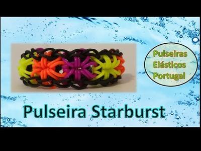 Pulseiras moda elasticos starburst ideias exemplos rainbow loom pulseiras portugal v1 1
