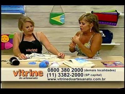 Tapete Ovelhinha com Tânia Silva - Vitrine do Artesanato na TV