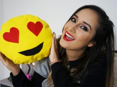 Almofada de Emoji DIY