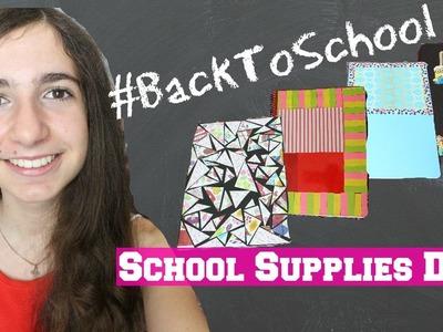 BackToSchool #1 | School Supplies DIY ♥