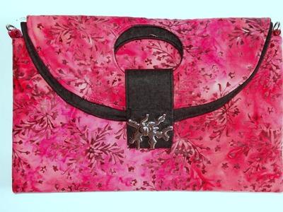 Carteira em tecidos Rubi - Maria Adna Ateliê - Cursos e aulas de bolsas e carteiras em tecidos