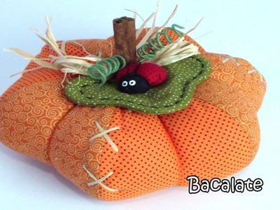 Como fazer Abóbora Moranga Dia das Mães - DIY calabaza manualidades Pumpkin
