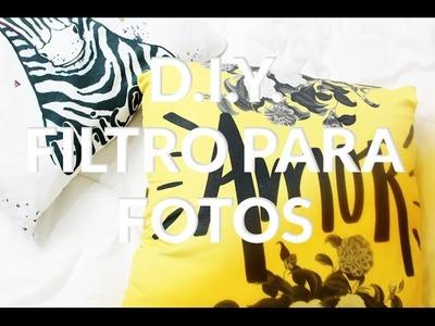 D.I.Y. Filtro para fotos | Bia Jiacomine