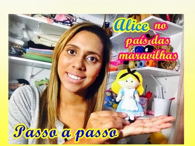 DIY Alice no país das maravilhas - Artesanato