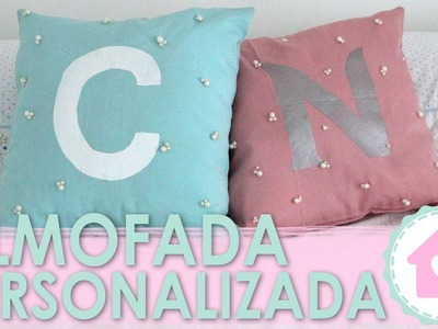 DIY Almofada Personalizada Letra do Nome - wFashionista
