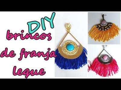 DIY: BRINCO LEQUE COM FRANJAS + SORTEIO (encerrado)