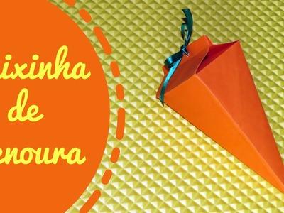 DIY | Caixinha.Embalagem de Cenoura | Especial Páscoa