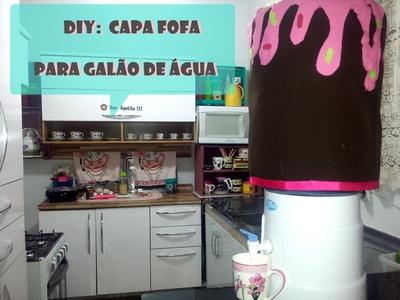 DIY: Capa fofa para galão de água