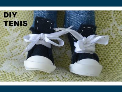 DIY: Como fazer sapato , tênis para o Ken e outros bonecos