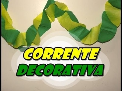 DIY.: Corrente Decorativa - Decor Art
