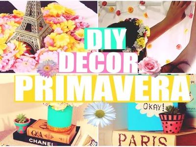 DIY DECOR| PRIMAVERA ♥ Ideias simples & baratas ♥