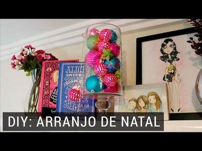 DIY: Decoração de Natal para o quarto | Lia Camargo