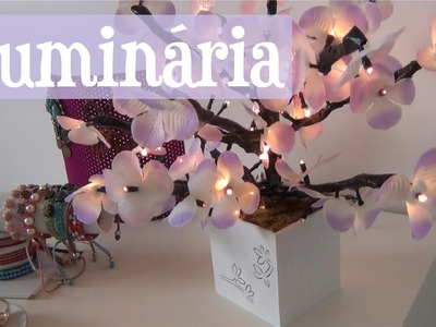 DIY Decoração Quarto - Luminária de Árvore inspirada na Luminária Imaginarium